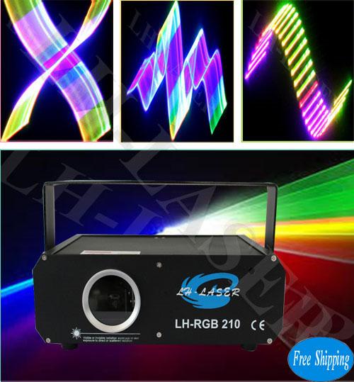 300mW 2D+3D+SD Card RGB Laser