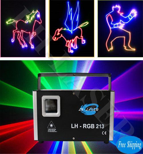 1.2W TTL Modulation RGB Laser