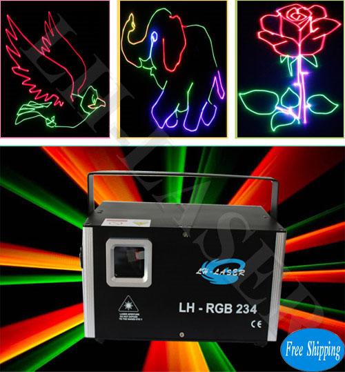 1.5W TTL Modulation RGB Lighting System