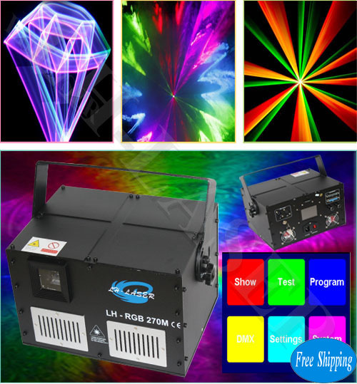 5W Analgo Touch Screen RGB Laser