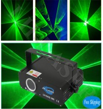300MW Single Green Animation Light