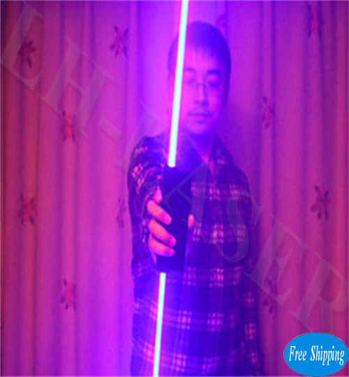 Free Shipping Blue Color Hand Laser Swords For LaserMan