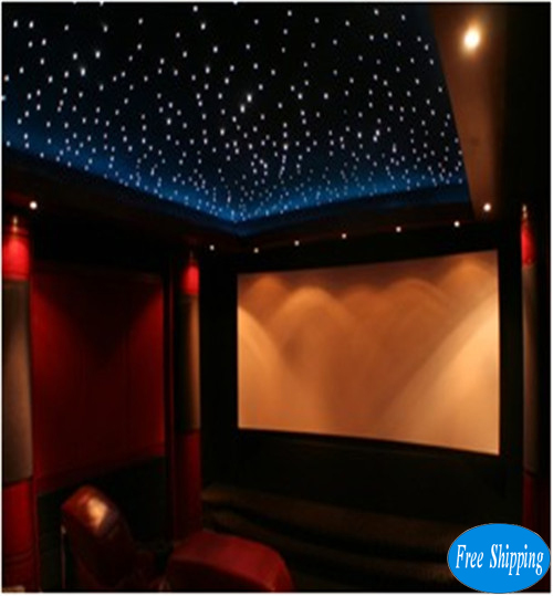 Free Shipping LED RGB (3 in 1) star curtain 2*3M