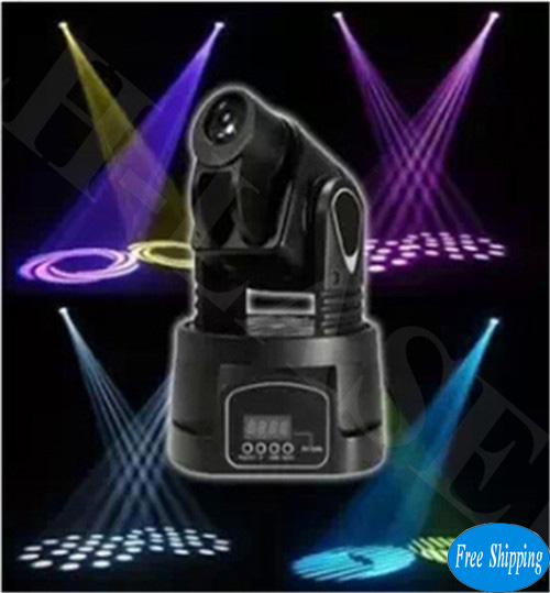 Free Shipping Mini 15W LED Moving Head Lights