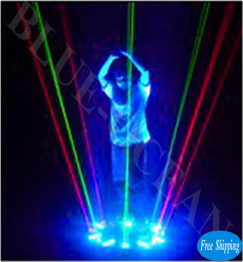 Free Shipping RGB Dancing Laser Lighting