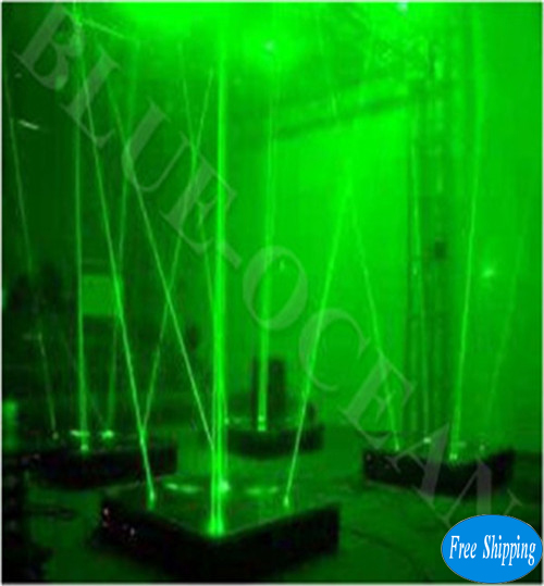 Free Shipping Green Dancing Laser With LED