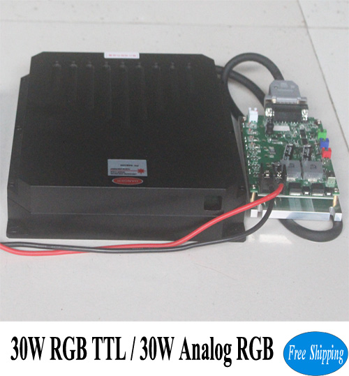 Free Shipping 30W Laser Light Projector Diodes system Parts