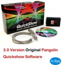 Free Shipping Original 3.0 Pangolin Quickshow Laser Software
