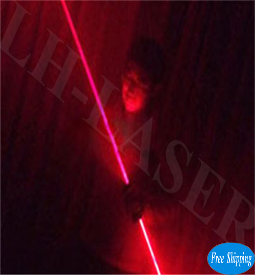Free Shipping Red Color Hand Laser Swords For LaserMan