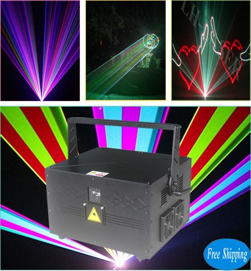 Free Shipping 20W SD Card RGB Laser