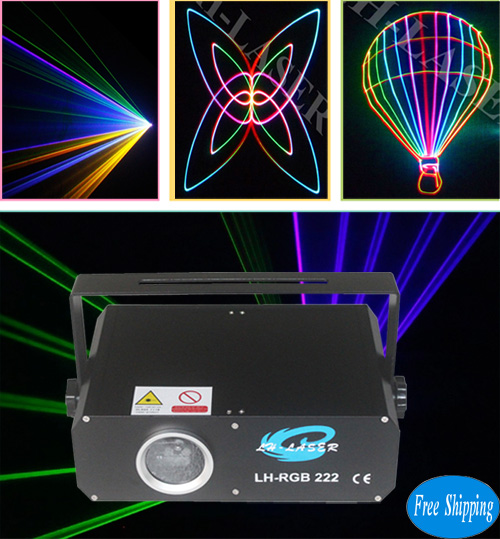 Free Shipping Stage Laser Show Cheap 500mW Analog RGB