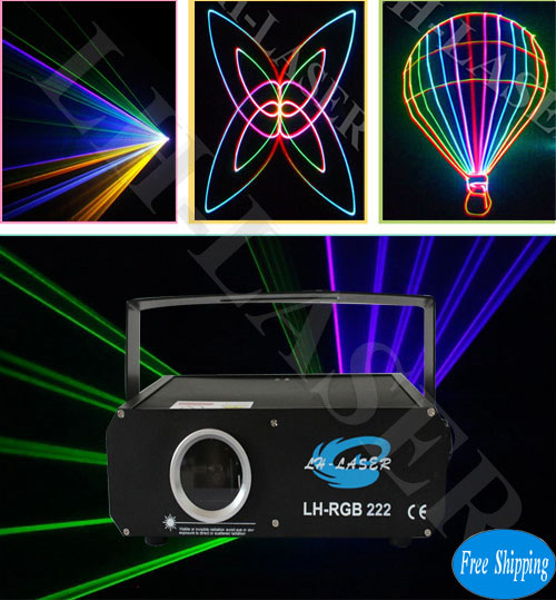 Stage Laser Show Cheap 500mW Analog RGB