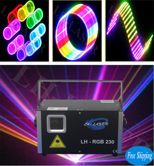 1200mW 3D+SD Card Full Color Animation Laser