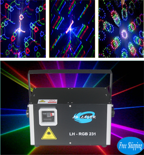 Free Shipping 1.2W SD Card with fireworks laser effects