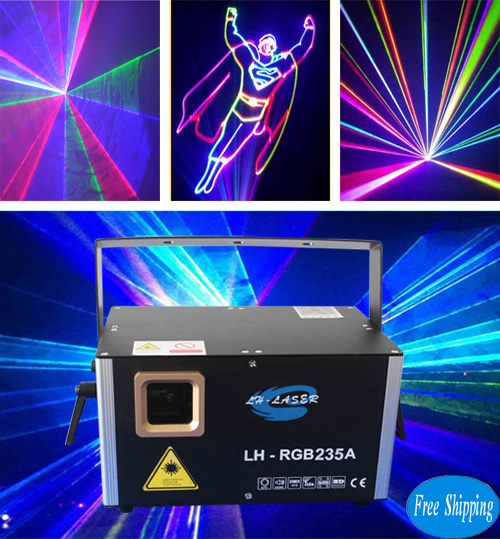 Free Shipping ILDA And PC Control Laser Light
