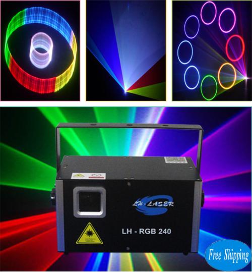 2000mw 2D/3D SD Card RGB Laser Light