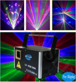 2W Network Interface RGB Laser