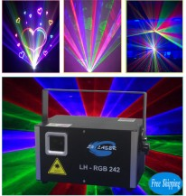 2000mW Analgo Modulation RGB Laser