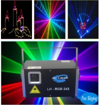 2W Club  RGB Animation Laser Projector