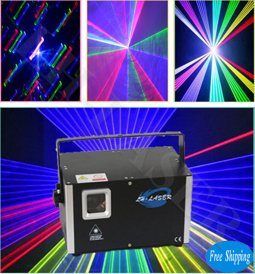 Free Shipping Night club 2.5w rgb animation laser light