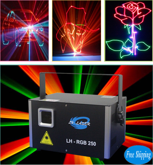 Free Shipping 3W Outdoor Disco Christmas Laser Projectors