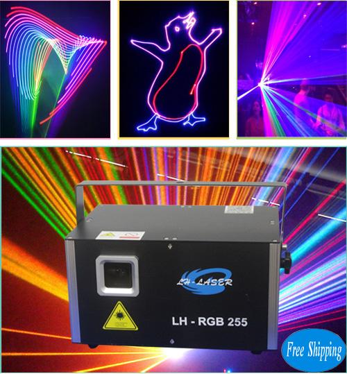 3W RGB Laser With 45Kpps Analog Lighting