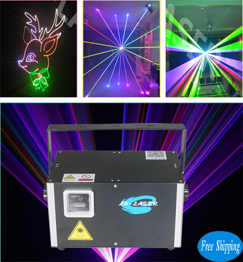 Free Shipping 4000mw SD Card Christmas light laser