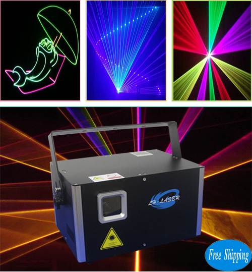 Free Shipping 4500mW Laser light show system