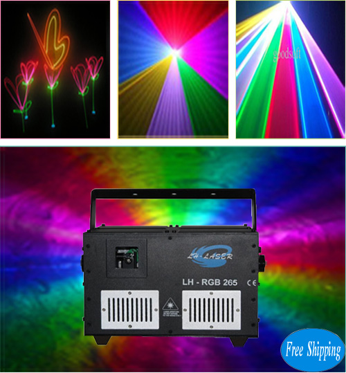ILDA 45K galvo MINI 4.5W RGB Laser