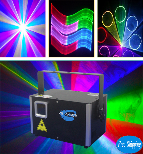 Free Shipping 4.5W SD card ILDA Laser for party holiday