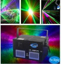 Free Shipping Mini 5W rgb laser with SD Card