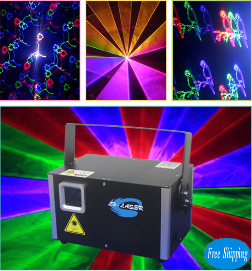 Free Shipping 5W Party Clubbing DJ Laser Stage Lighting
