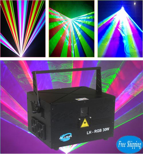 Mini 30W Full Color RGB Disco Laser