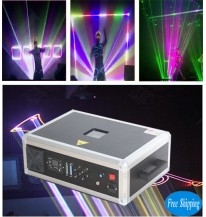 Free Shipping 8000MW SD Card RGB LaserMan Show