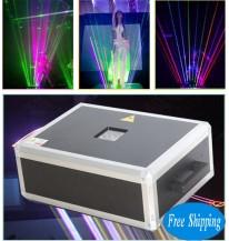 Free Shipping 8000MW SD Card RGB LaserMan Show