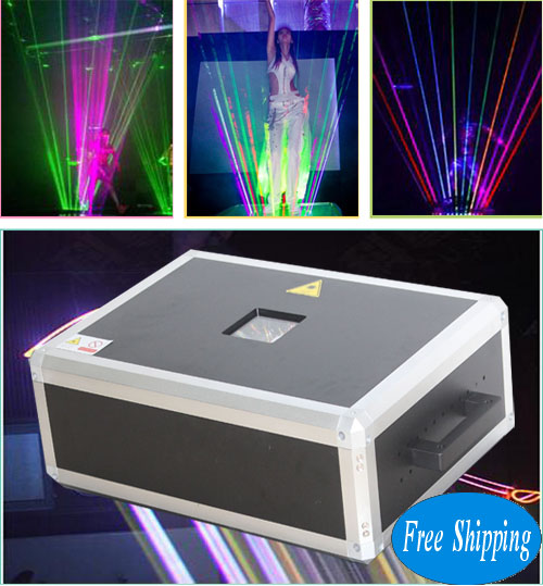 5000MW SD Card RGB LaserMan Show