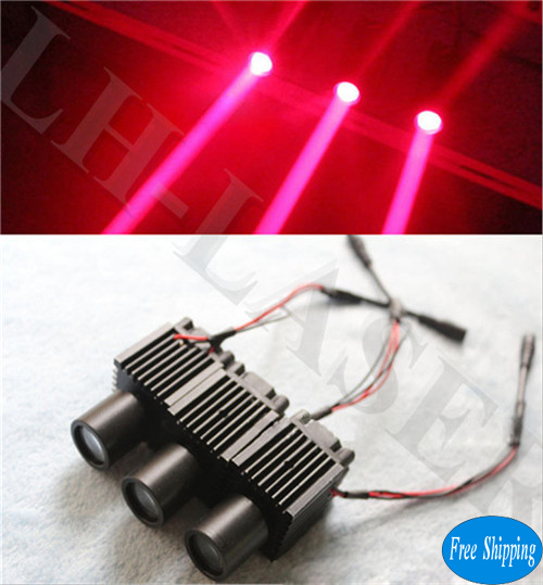 Free Shipping Single Red Color Laser Beam