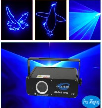 1W Blue Color Animation disco Laser