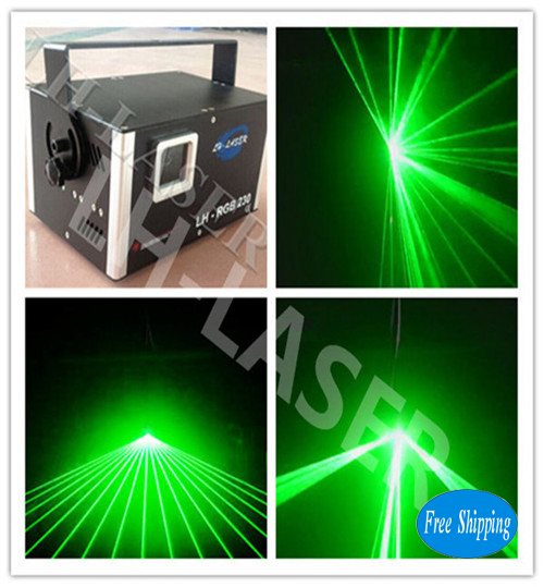 1W  30k lcd display green animation