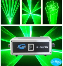 10W SD Card Green Color Animation Laser