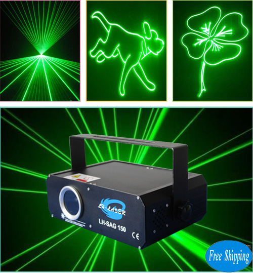 Free Shipping 150MW Green SD Card Laser