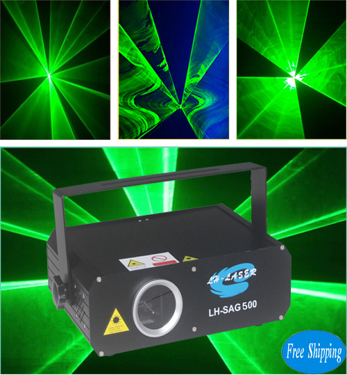 Free Shipping Professional 500mw green outdoor laser