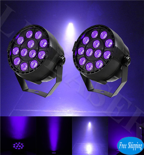Free Shipping 12W UV Stage Lights Black Light